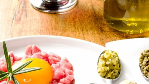 Have some fun and add some of your own ingredients into the steak tartare. How about roasted garlic or maybe some parmesan cheese and arugula... So many options!
