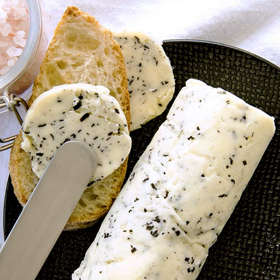Learn how to make truffle butter easily in your own kitchen. It is so delightfully creamy and wonderful you'll wonder where it has been your whole life!