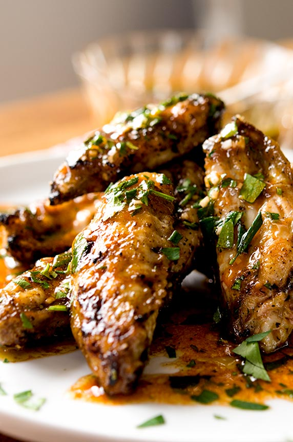 Lemon garlic chicken wings recipe!