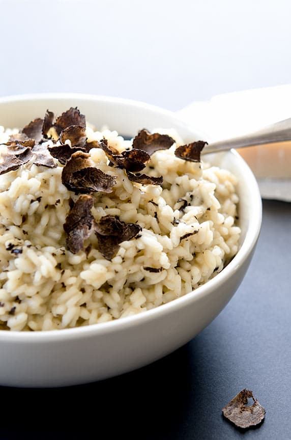 winter truffle risotto is just so tasty.