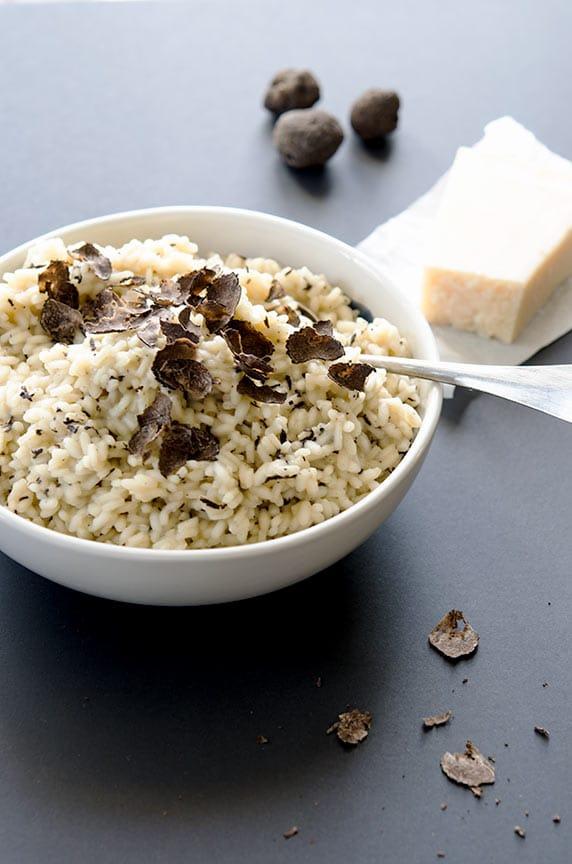 black truffle risotto recipe