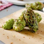 A delightful pesto chicken wings recipe.