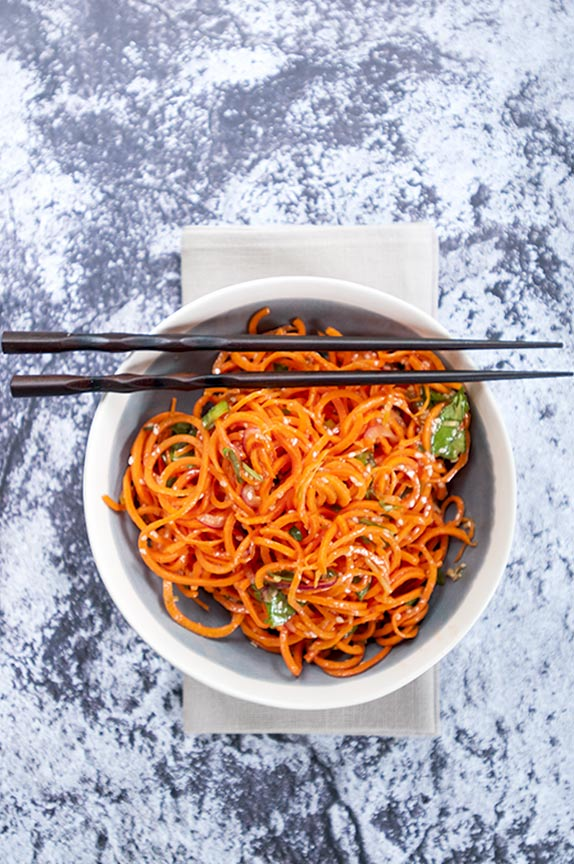 gluten free asian carrot salad