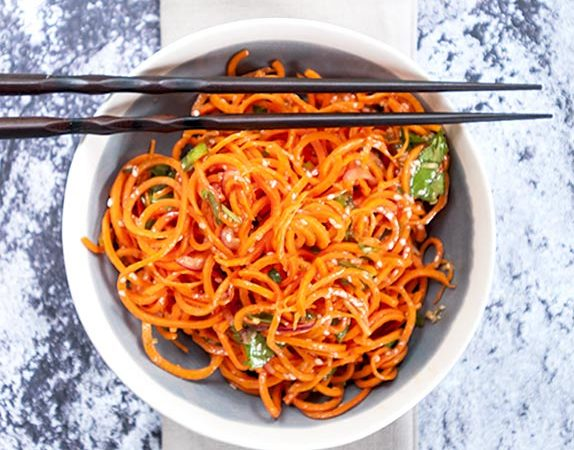 spicy asian carrot salad recipe