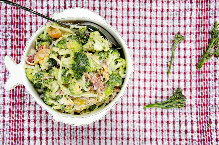 low carb broccoli salad recipe