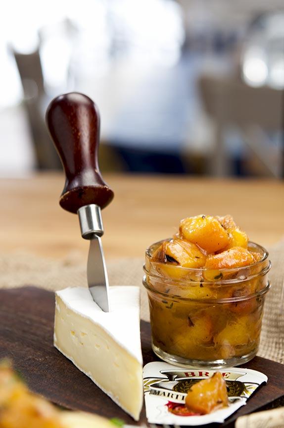 gluten free peach compote
