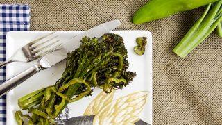 Spicy Roasted Broccolini (Baby Broccoli)