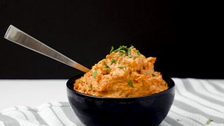 Carrot Mash with Ginger & Garlic