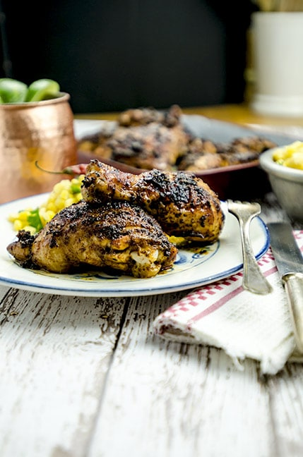 chipotle chicken recipe full table layout