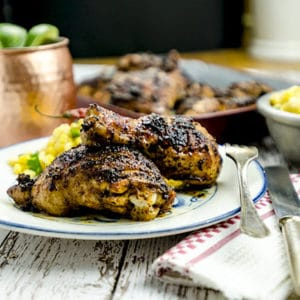 My chipotle chicken recipe ready for dinner