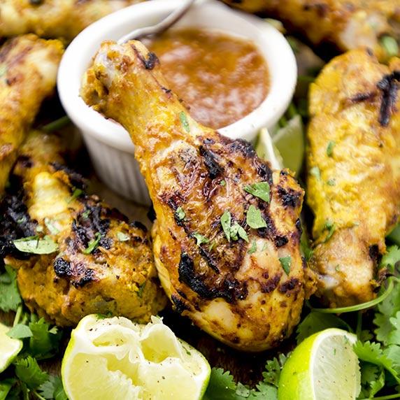 gluten free tandoori style grilled chicken