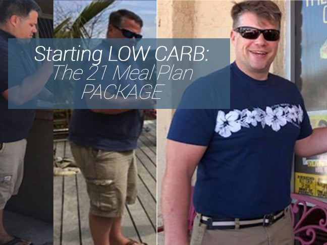 Picture of Scott Groth showing results of the low carb diet meal plan.