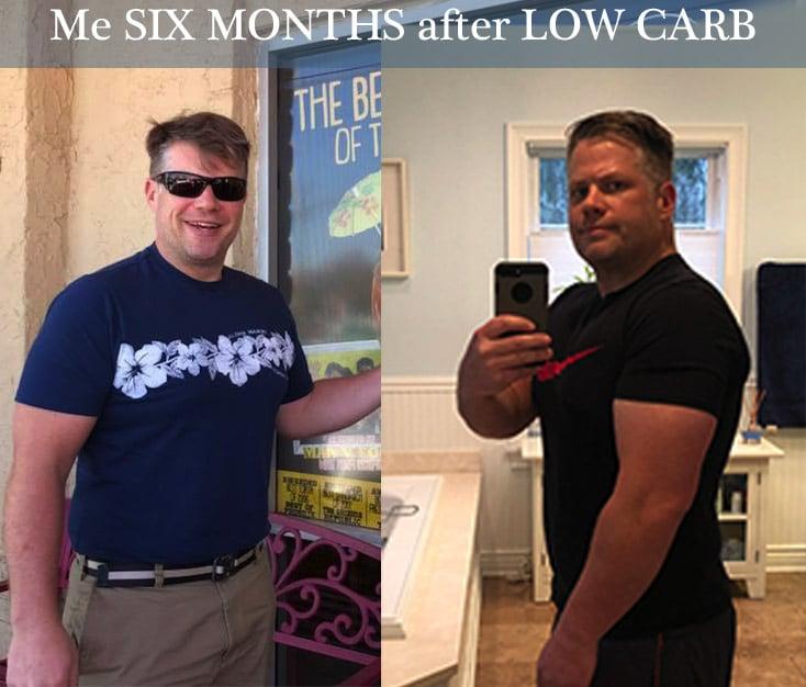low carb diet success after