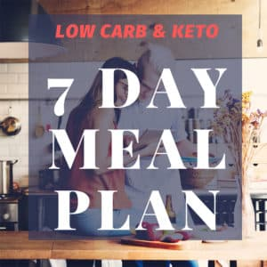 7 day low carb diet meal plan