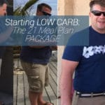 Low carb diet meal plan picture with me heavy and then skinny after using my meal plan.