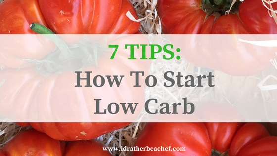 How to Start a Low-Carb Diet – The RIGHT Way