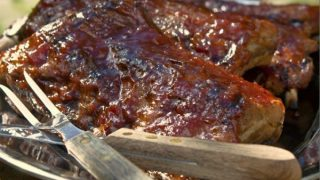 BABY BACK RIB RECIPE: SEARED, BRAISED & GRILLED