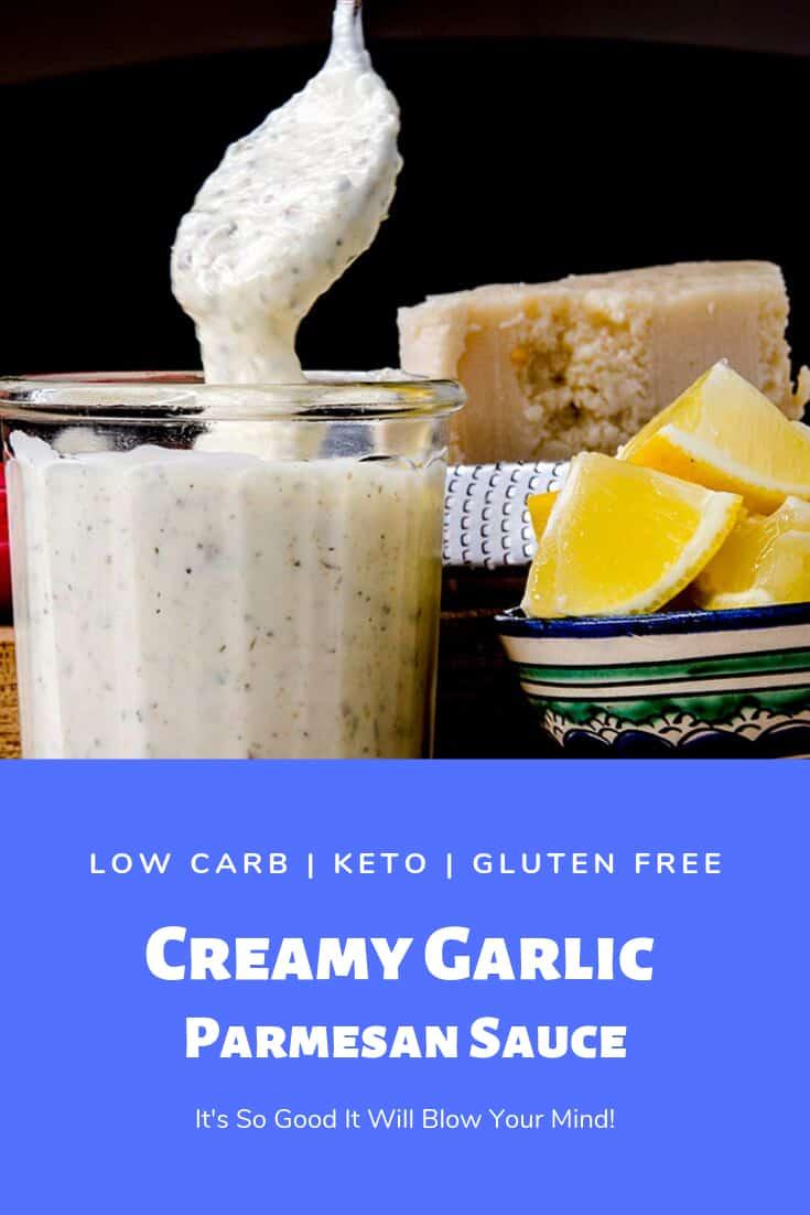 Delicious Creamy Garlic Parmesan Wing Sauce
