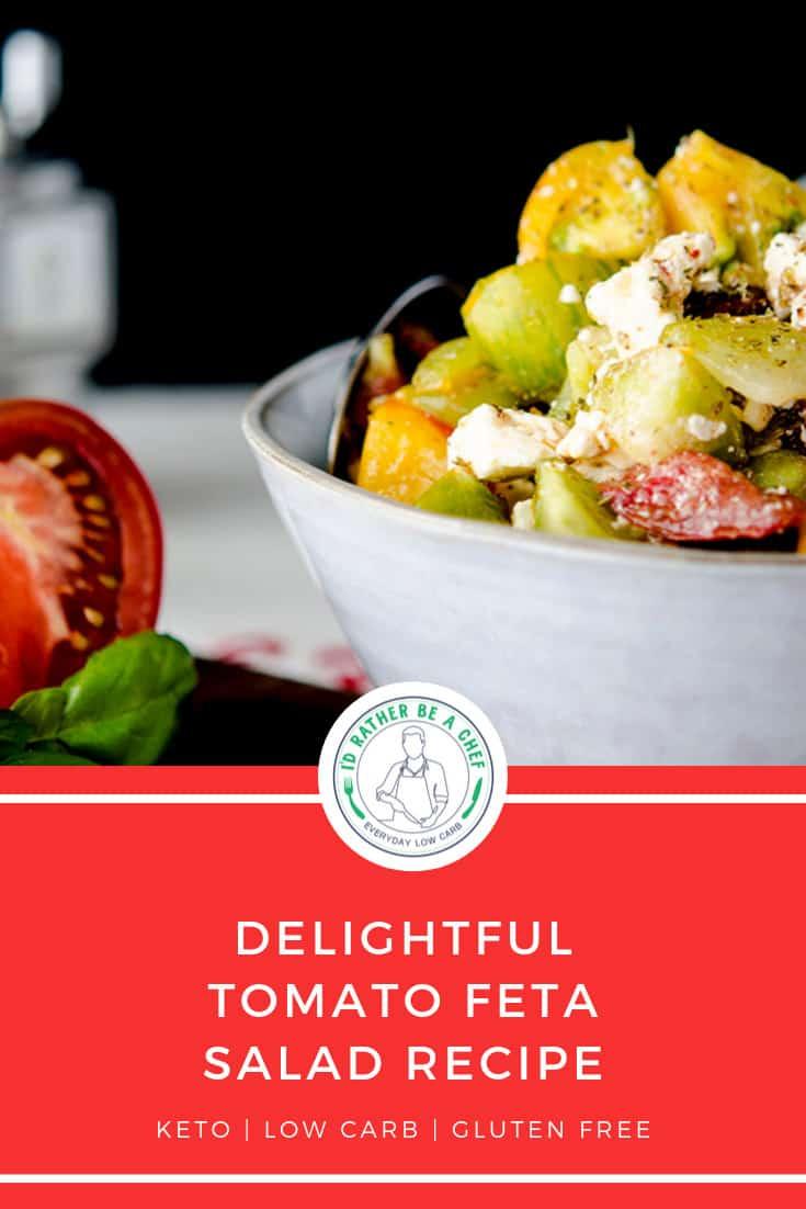keto tomato feta salad recipe