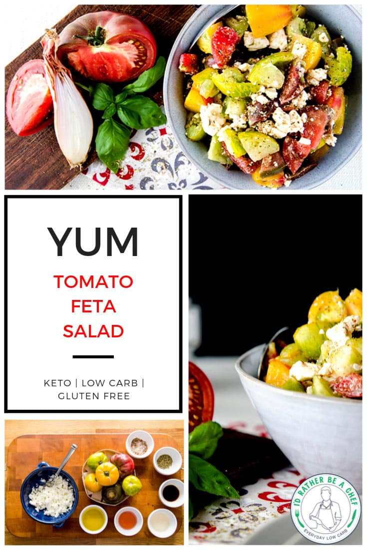 low carb tomato feta salad recipe