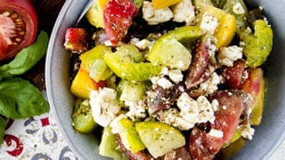 Tomato Feta Salad Recipe Low Carb