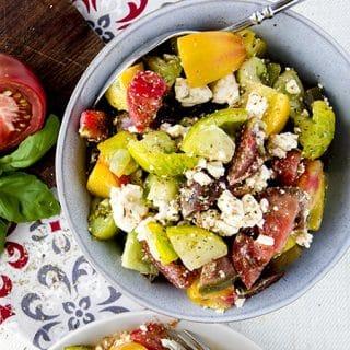 Tomato Feta Salad Recipe Low Carb