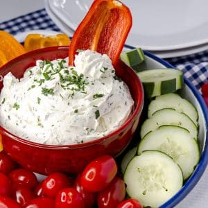 low carb keto cream cheese dip recipe