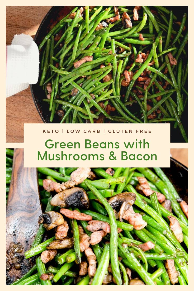 keto green beans and mushrooms recipe