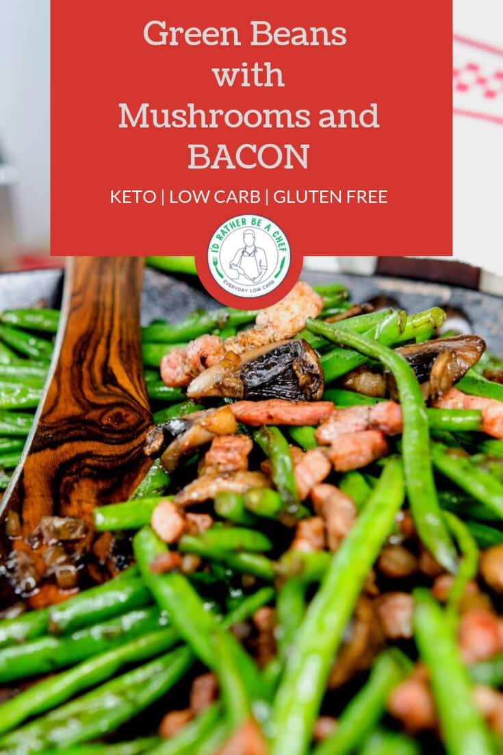 low carb green beans with mushrooms recipe