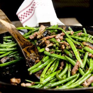 low carb green beans and mushrooms recipe