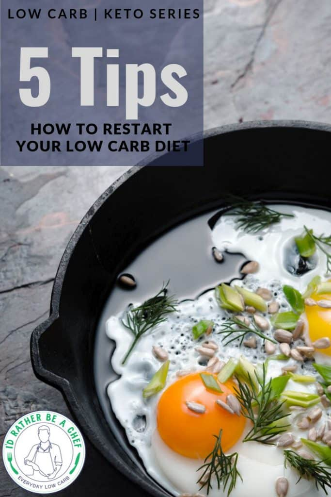 how to restart a low carb diet today